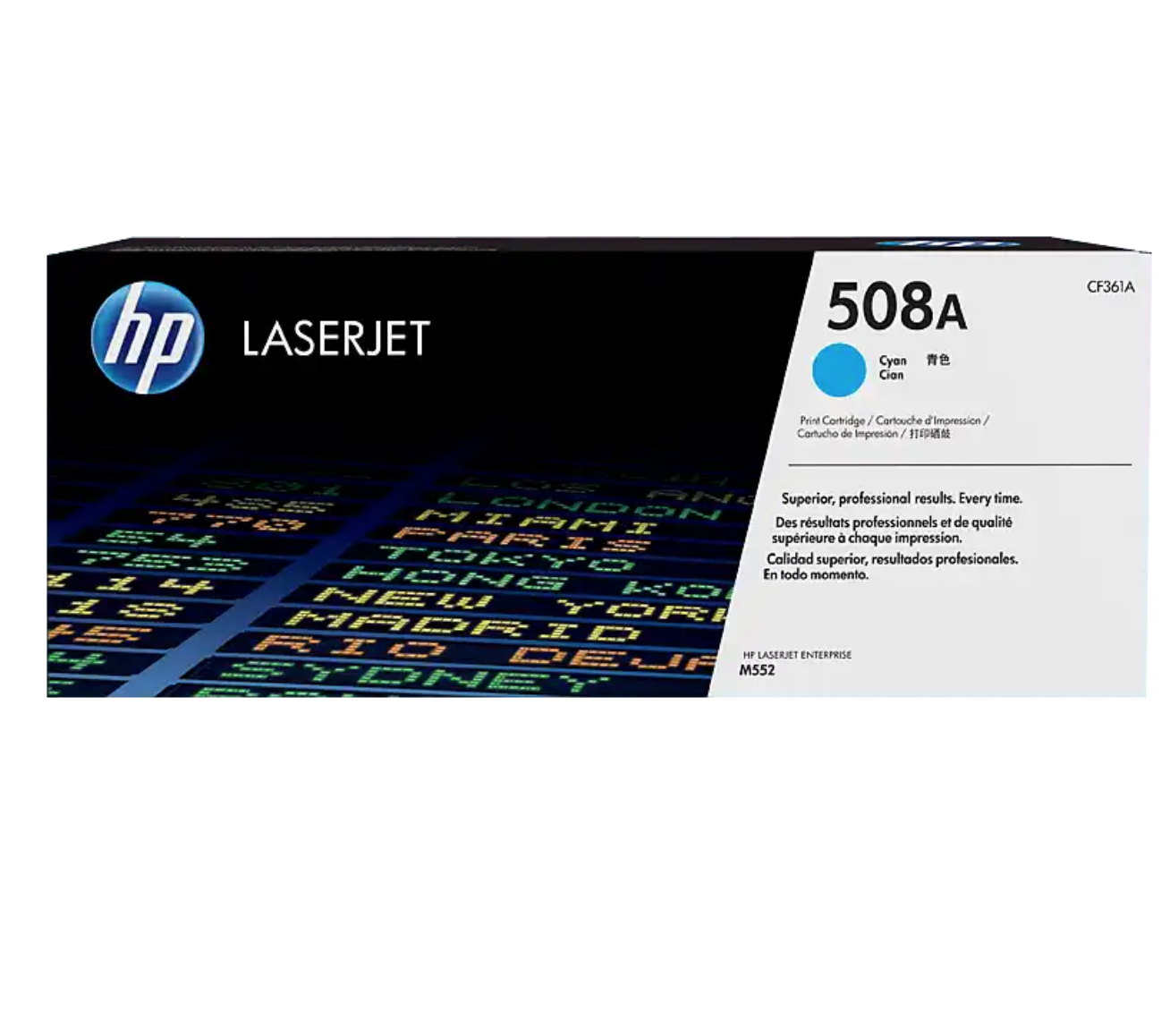 HP 508A 靛藍原廠 LaserJet 碳粉 CF361A