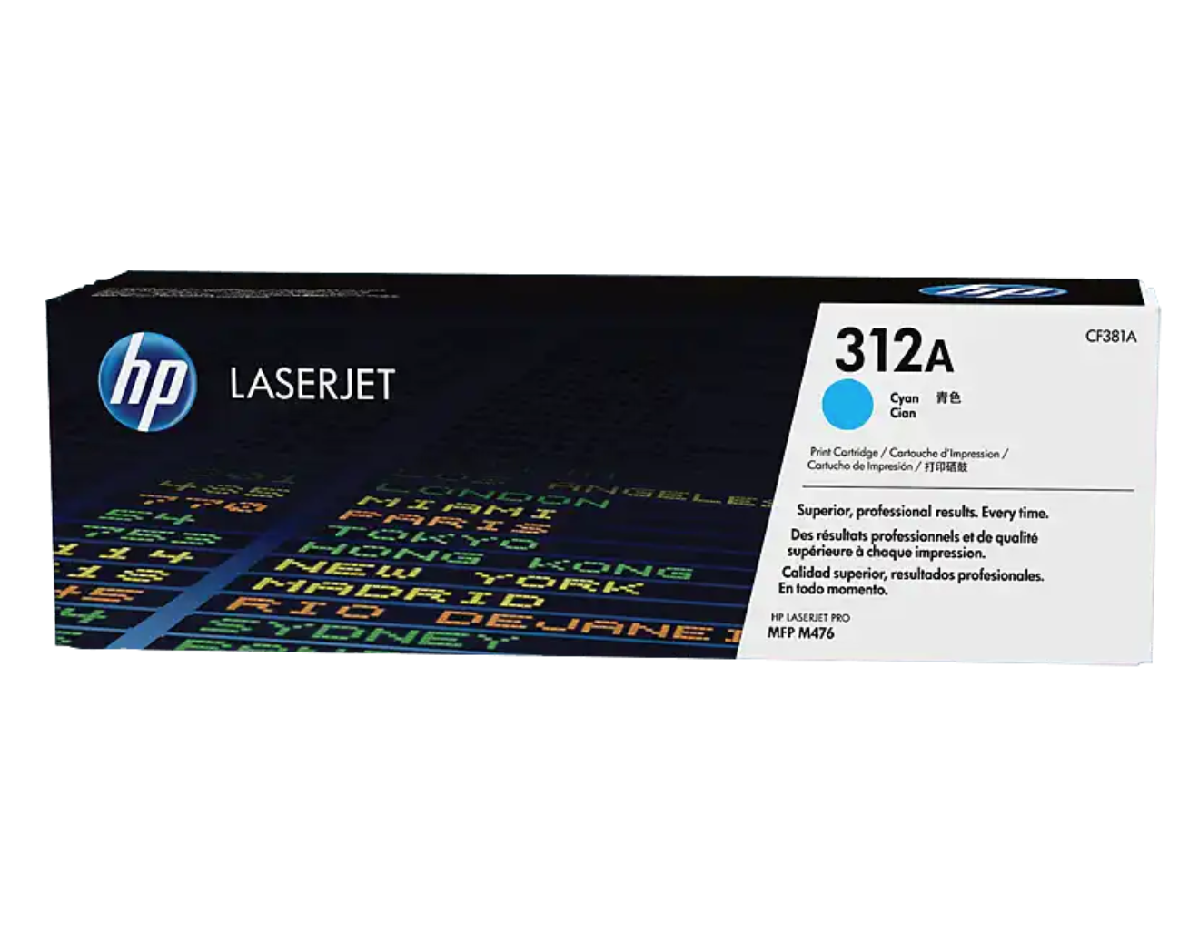 HP 312A 綻藍原廠 LaserJet 碳粉 CF381A