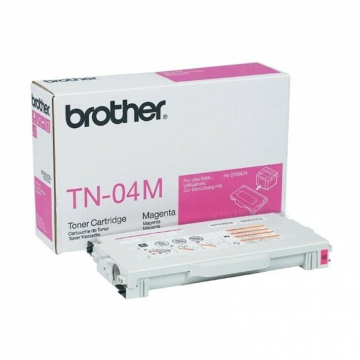 Brother TN04 M 洋紅色高容量原裝碳粉盒 TN04M