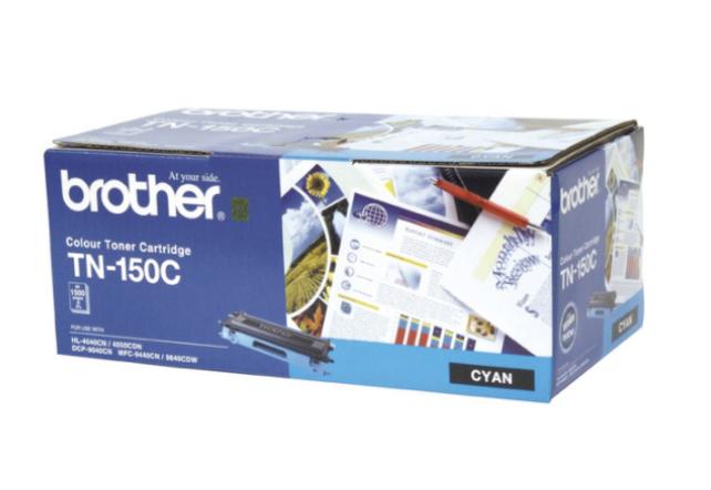 Brother TN150 C 青色原裝碳粉盒 TN150C