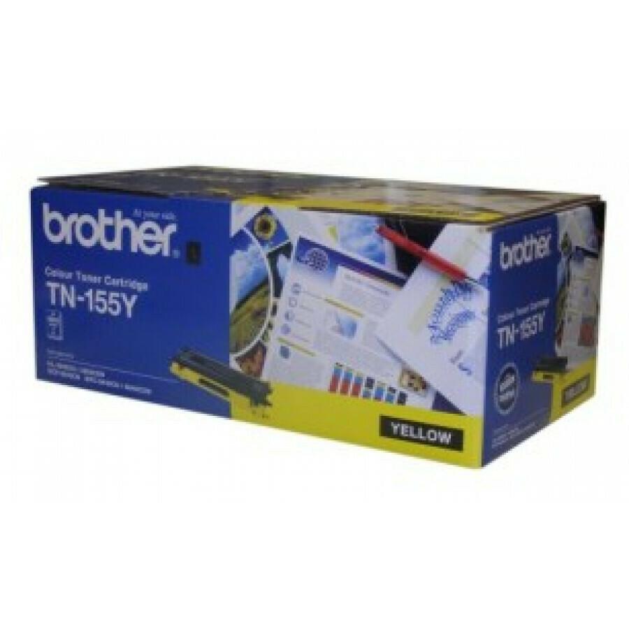 Brother TN155 Y 黃色高容量原裝碳粉盒 TN155Y