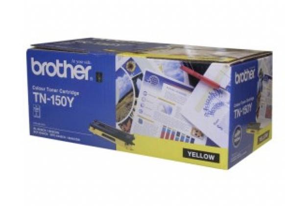 Brother TN150 Y 黃色原裝碳粉盒 TN150Y