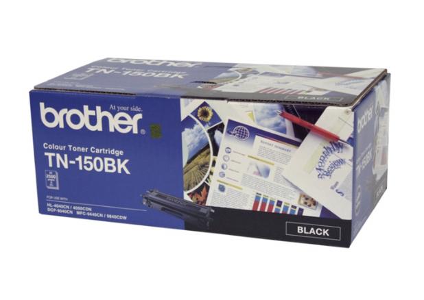 Brother TN150 BK 黑色原裝碳粉盒 TN150BK
