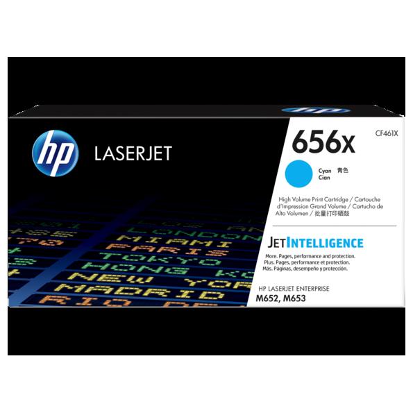 HP 656X 靛藍原廠 LaserJet 碳粉 CF461X