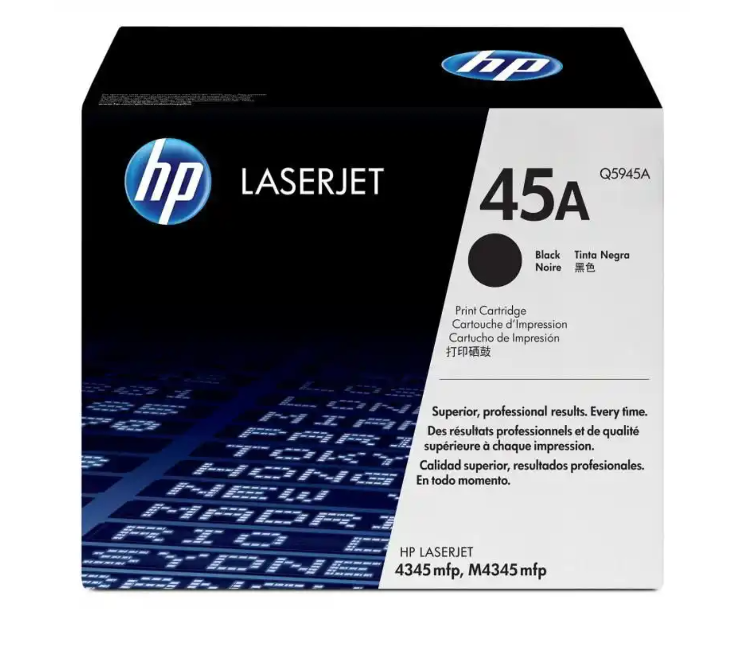 HP 45A 黑色原廠 LaserJet 碳粉 Q5945A