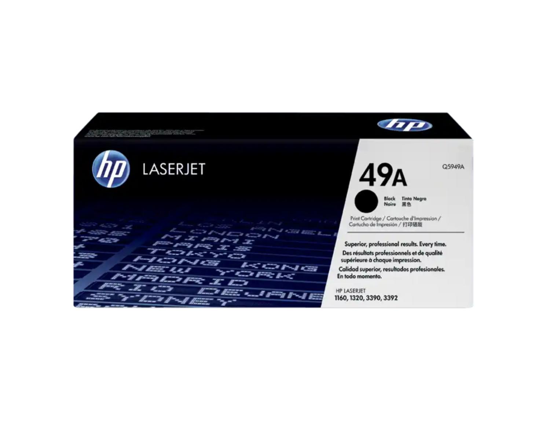 HP 49A 黑色原廠 LaserJet 碳粉 Q5949A