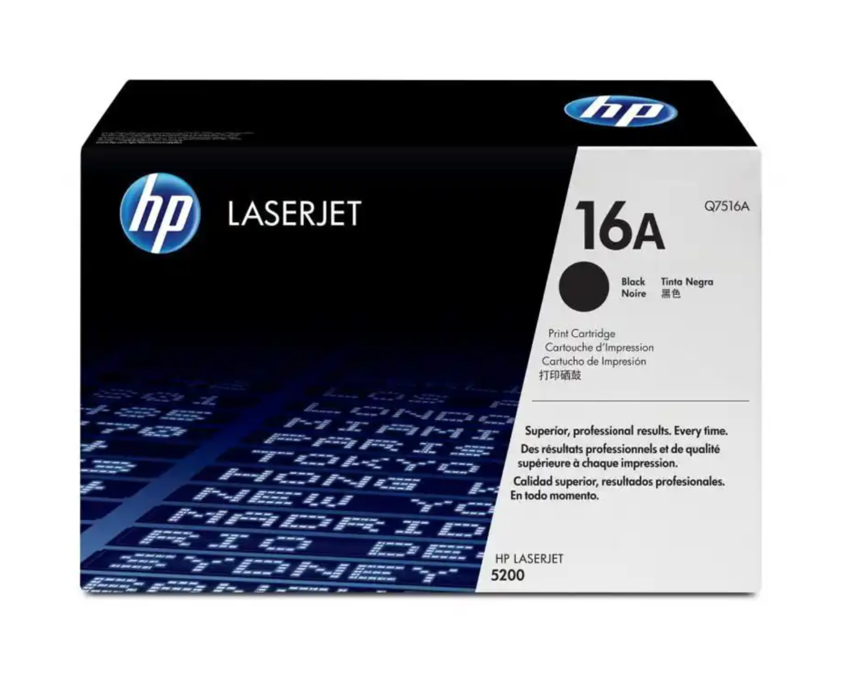 HP 16A 黑色原廠 LaserJet 碳粉 Q7516A