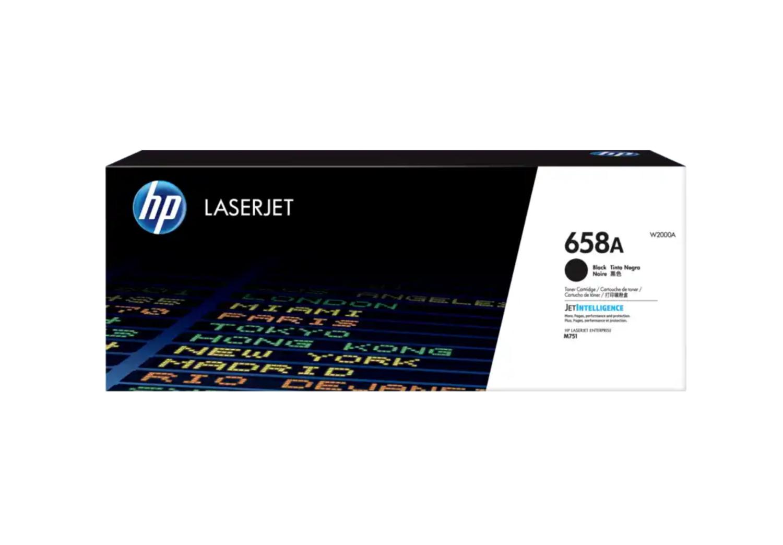 HP 658A 黑色原廠 LaserJet 碳粉 W2000A