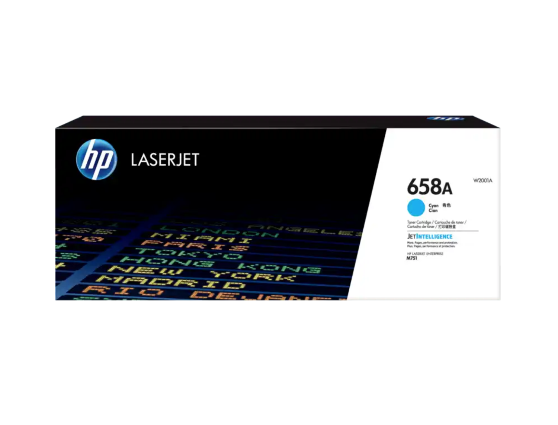 HP 658A 青色原廠 LaserJet 碳粉 W2001A