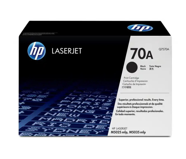 HP 70A 黑色原廠 LaserJet 碳粉 Q7570A