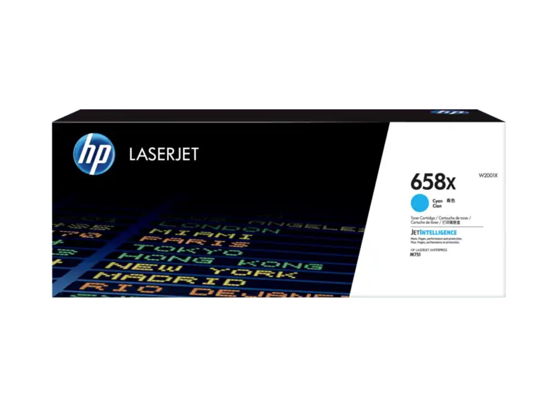 HP 658X 青色原廠 LaserJet 碳粉 W2001X