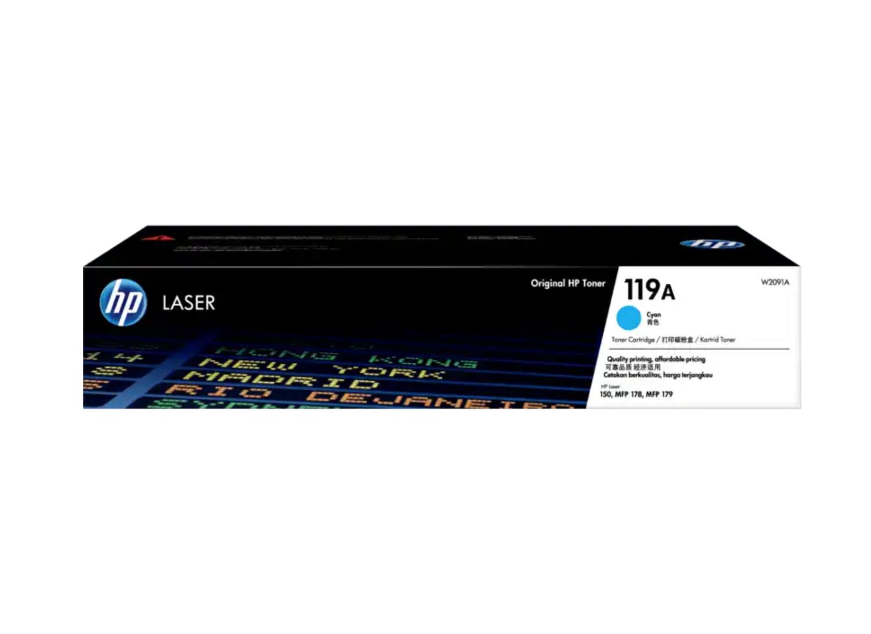 HP 119A 青色原廠 LaserJet 碳粉 W2091A
