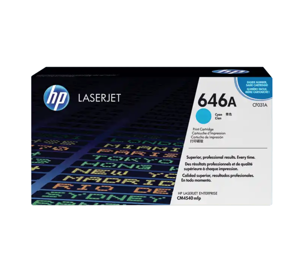 HP 646A 綻藍原廠 LaserJet 碳粉 CF031A