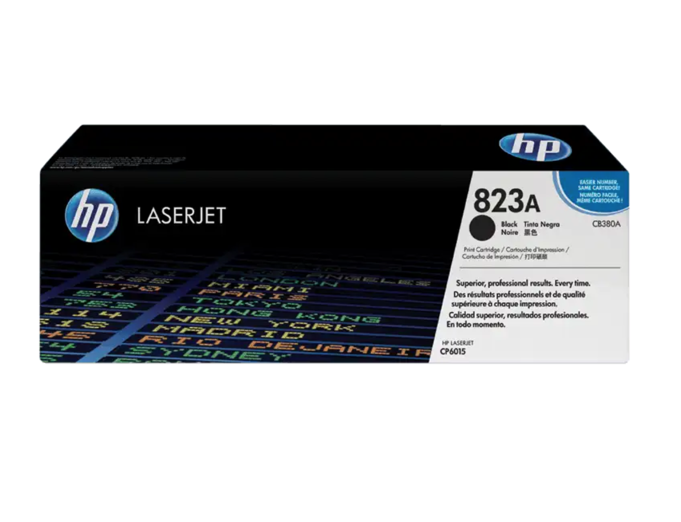 HP 823A 黑色原廠 LaserJet 碳粉 CB380A
