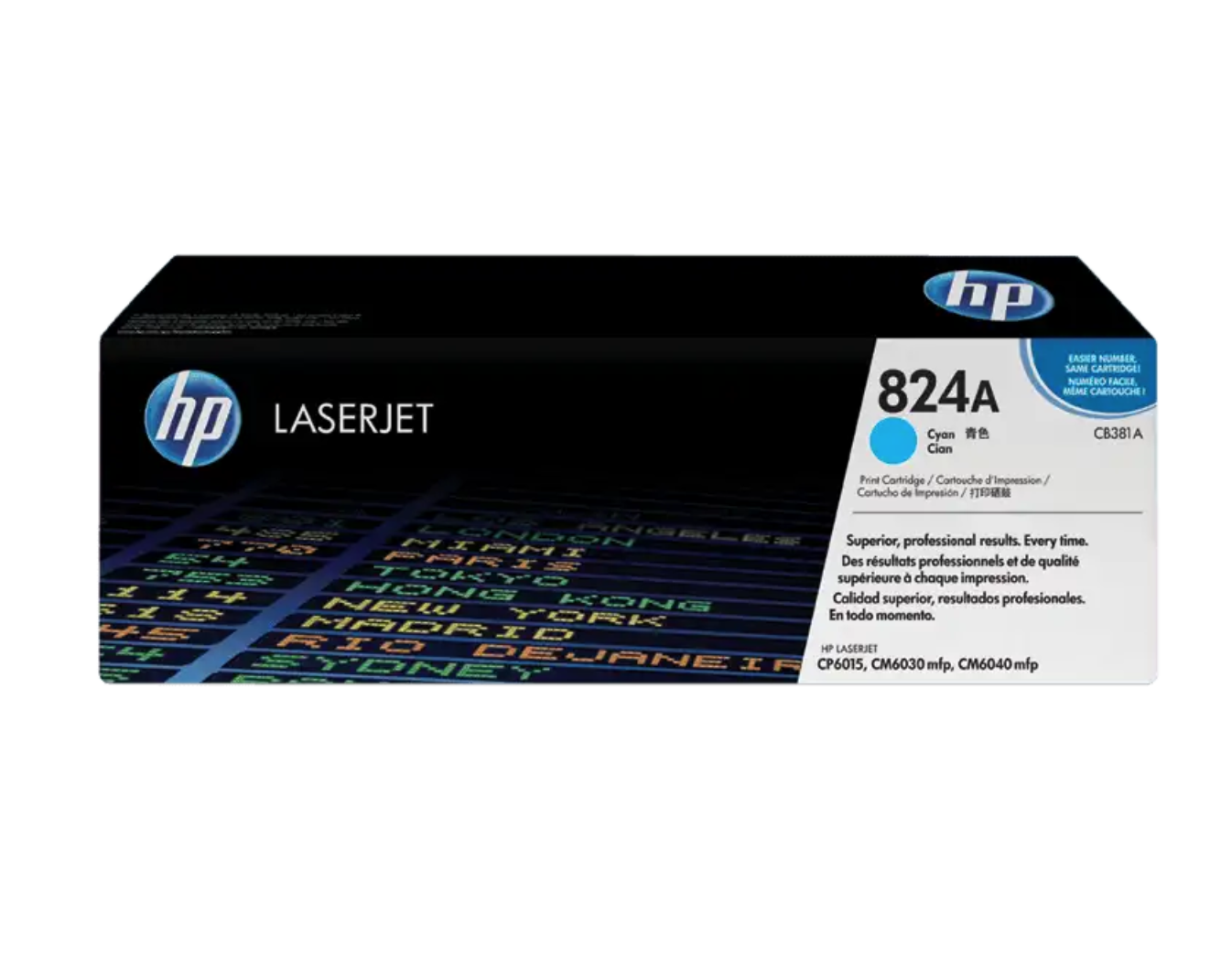 HP 824A 綻藍原廠 LaserJet 碳粉 CB381A
