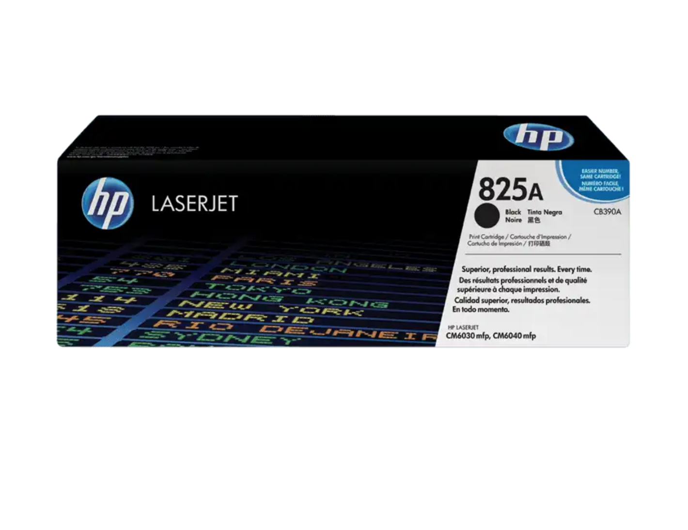 HP 825A 黑色原廠 LaserJet 碳粉 CB390A