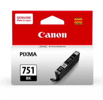 佳能黑色原廠高容量墨水 - Canon PGI-751XLBK Ink Cartridge XL - Black