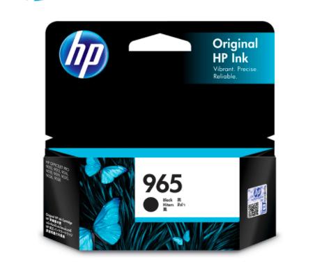 HP 965惠普黑色原廠墨盒