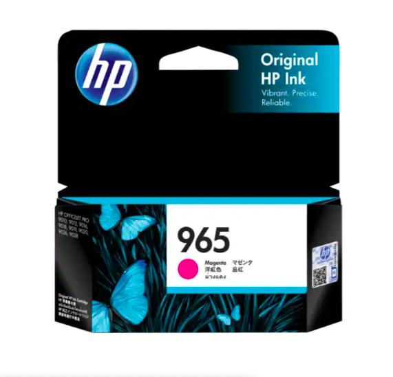 HP 965惠普紅色原廠墨盒