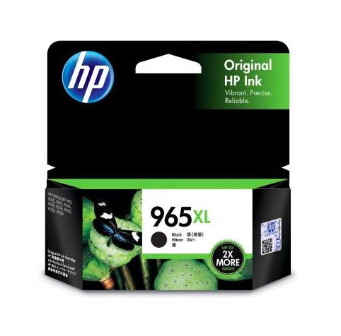 HP 965惠普高打印量黑色原廠墨盒