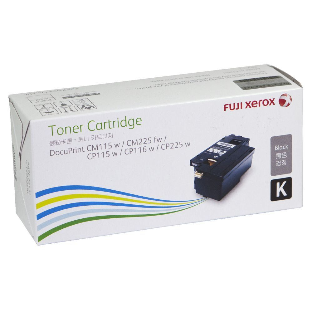 Fuji Xerox 黑色原廠 LaserJet 碳粉 CT202264