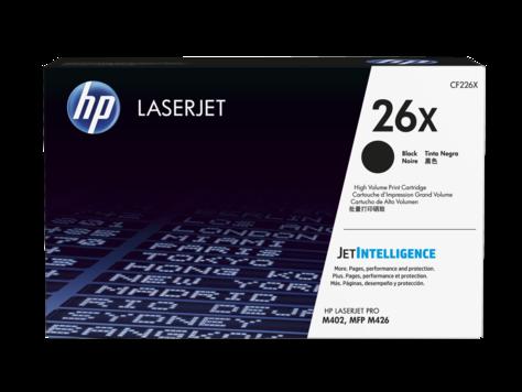 HP 26X 黑色原廠 LaserJet 碳粉 CF226X