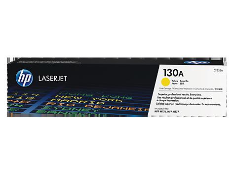 HP 130A 黃色原廠 LaserJet 碳粉 CF352A