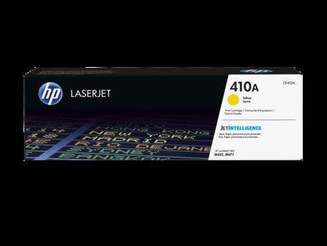 HP 410A 黃色原廠 LaserJet 碳粉 CF412A