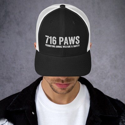 716 PAWS Trucker Cap