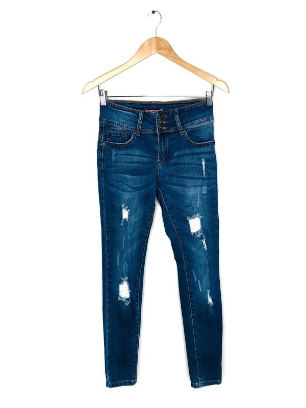 Jean azul oscuro