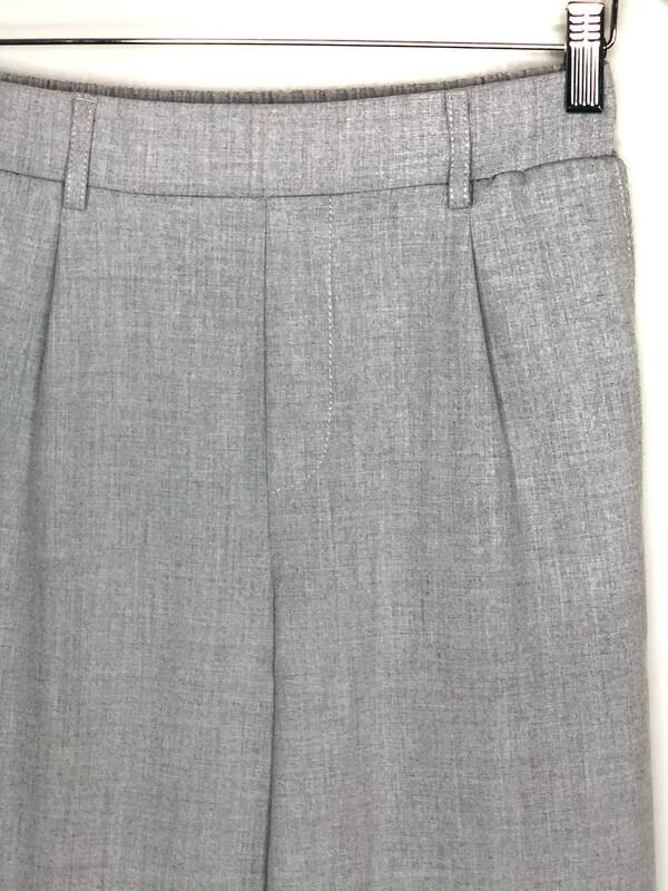 Pantalon gris Bershka