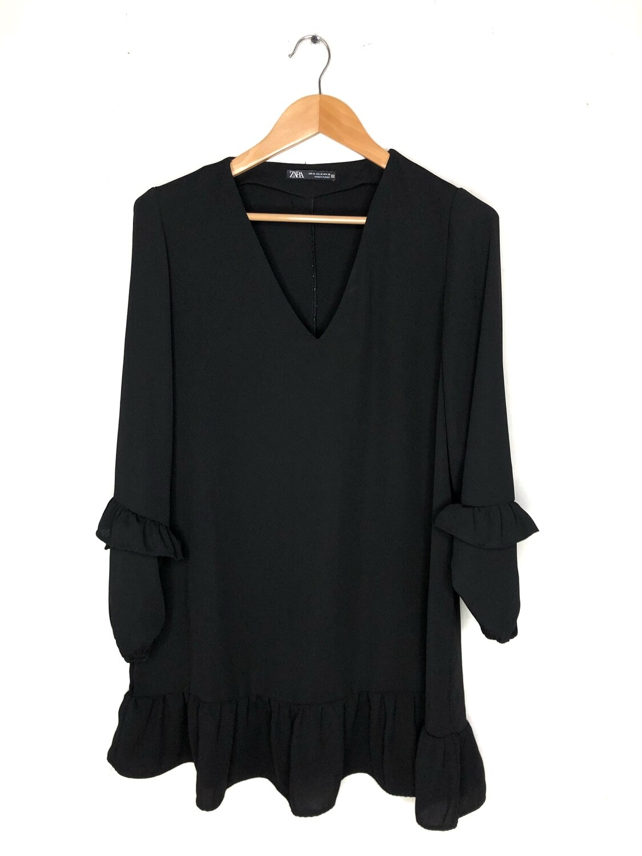 Vestido Zara negro