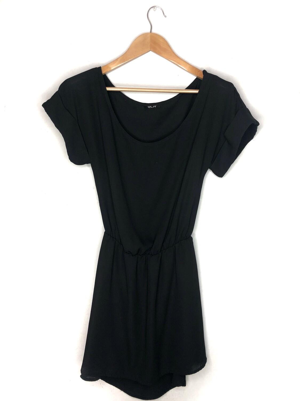 Vestido suelto negro