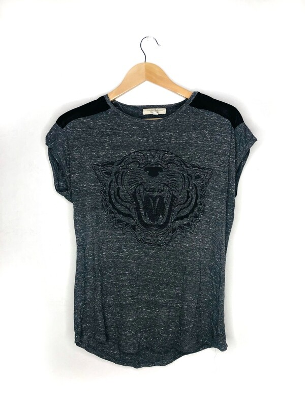 Camiseta tigre estampado