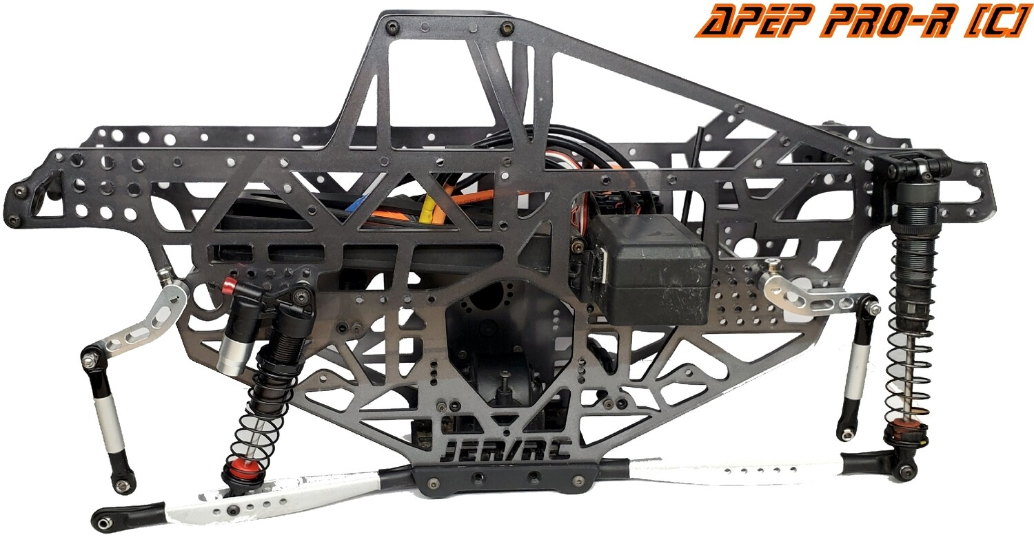 Black JMT PRO-R C/T Chassis Kits for LMT Build