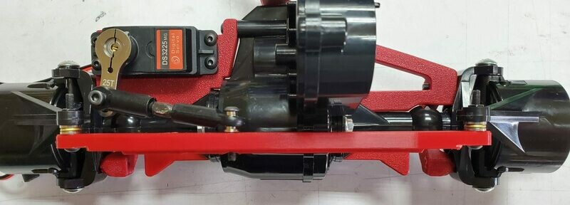 3D Printed Clodbuster Behind the Axle Steering Link