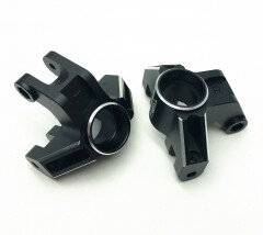 Treal Aluminum 7075 Front Steering Knuckles for Losi LMT