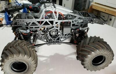 Black JMT PRO-R C/T Chassis Kits for LMT Build