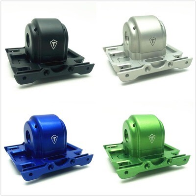Treal Aluminum 7075 Gearbox Housing Set with Covers for Losi LMT