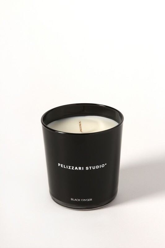 Pelizzari Studio - Black Ginger Candle