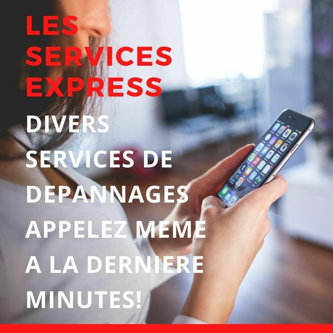 Les services - EXPRESS