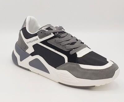 Sneakers U.S. POLO ASSN. art. ERVING colore nero/bianco