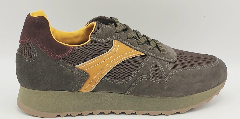 Sneakers Nero Giardini art. A901222U/522 colore oliva