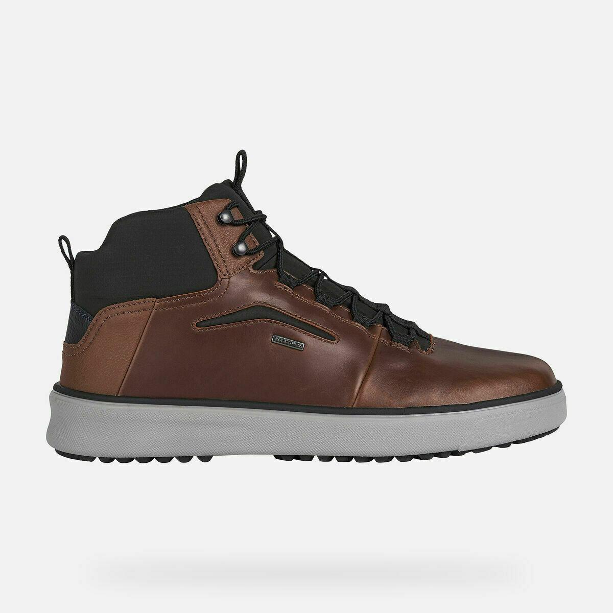 Sneakers alta Geox art. U04AQA colore marrone