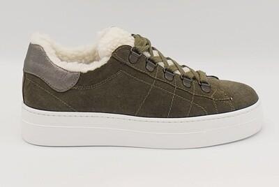 Sneakers Nero Giardini art. A909162D/503 colore bosco