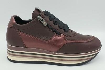 Sneakers Melluso art. R25251P colore bordeaux