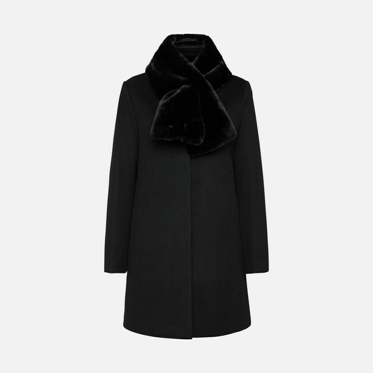 Cappotto Geox art. W0415B T2686 F9000 colore nero