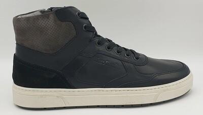 Sneakers alta Nero Giardini art. A901260U/100 colore nero
