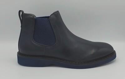 Stivaletto Nero Giardini art. I001691U/200 colore blu