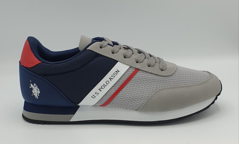 Sneakers U.S. Polo Assn art. Brandon colore grigio